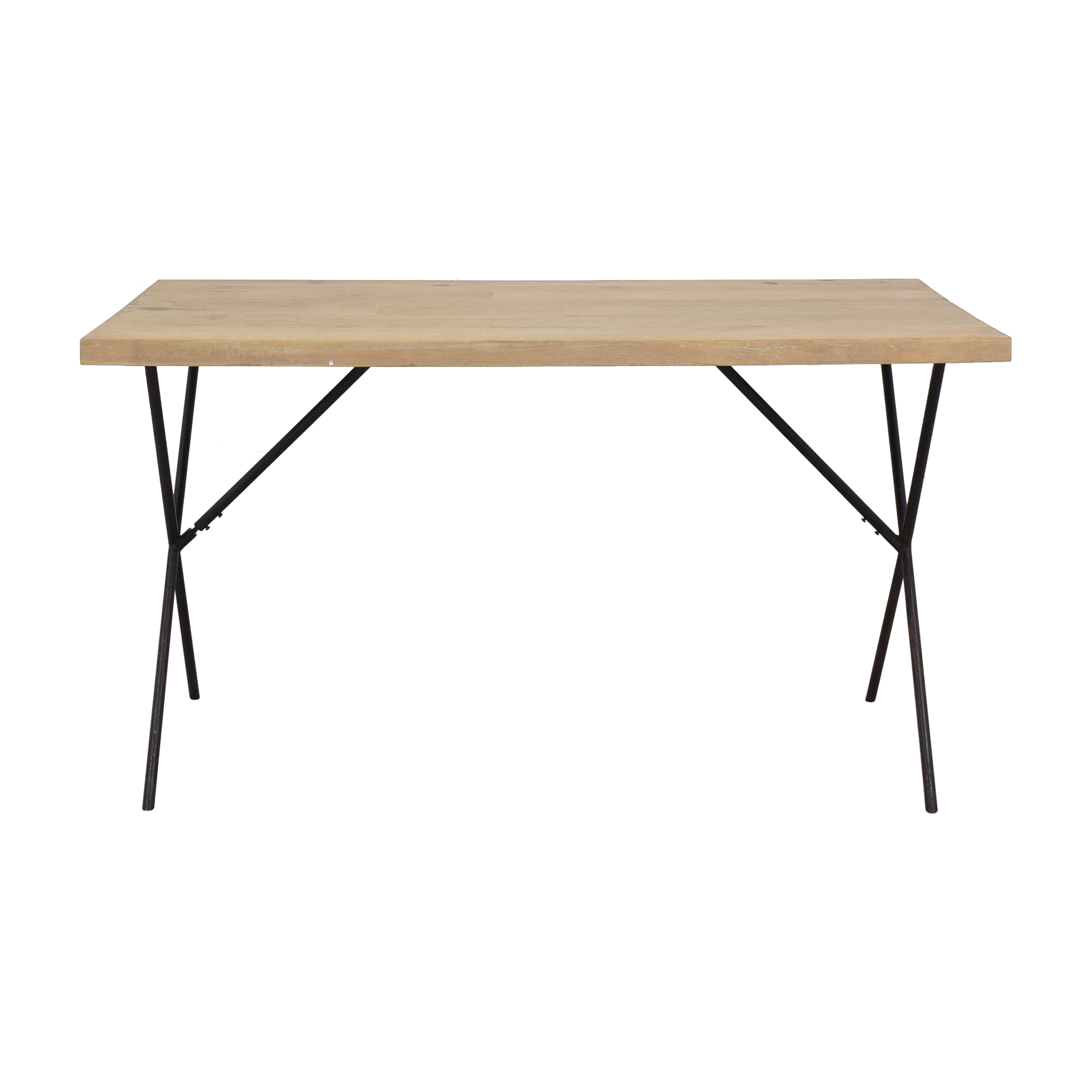 West Elm West Elm Metal Truss Work Table Home Office Desks