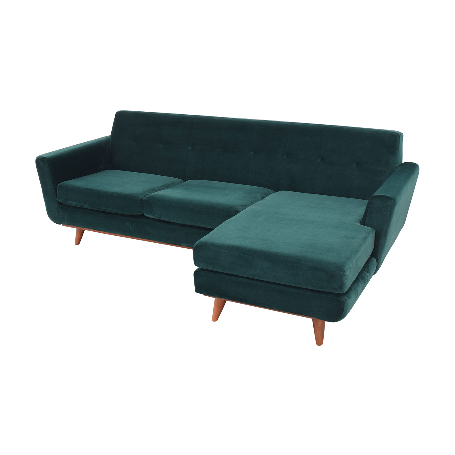 buy Joybird Hughes Reversible Sectional Joybird Sofas