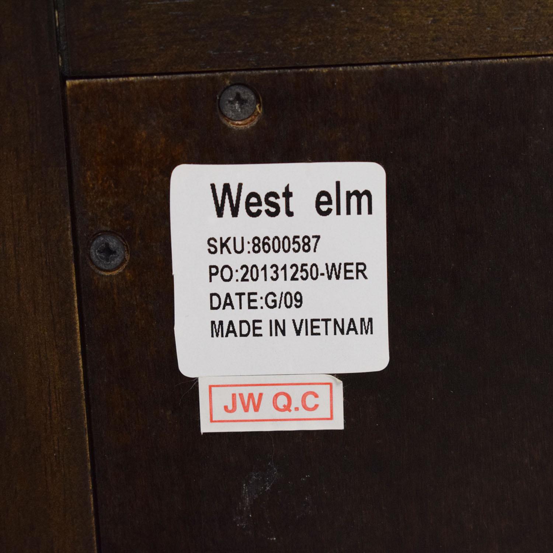 West Elm West Elm Flip Top Storage Cabinet price