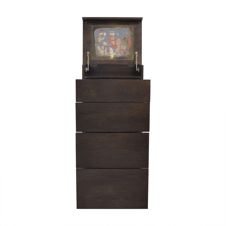 West Elm West Elm Flip Top Storage Cabinet for sale