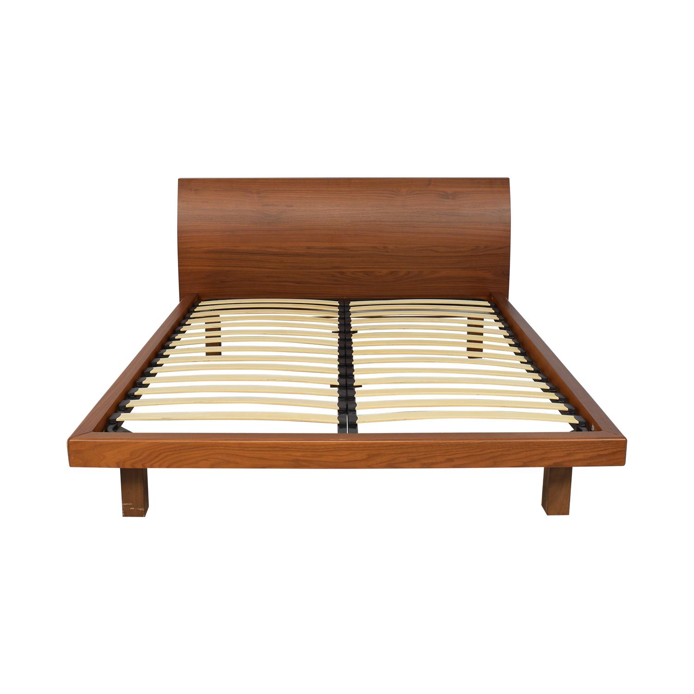 Calligaris Calligaris Balance Platform Bed brown