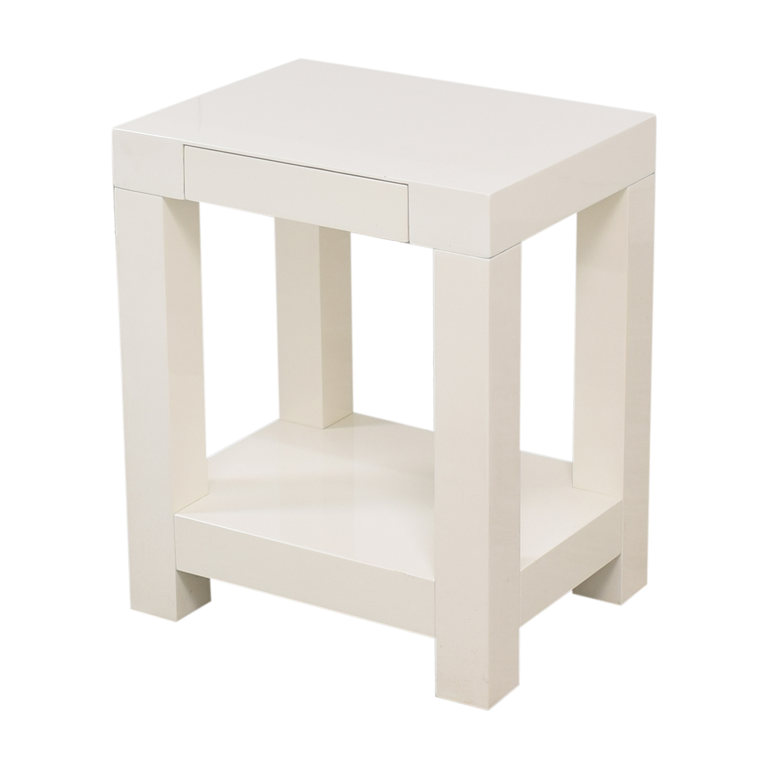 West Elm West Elm Parsons End Table ma