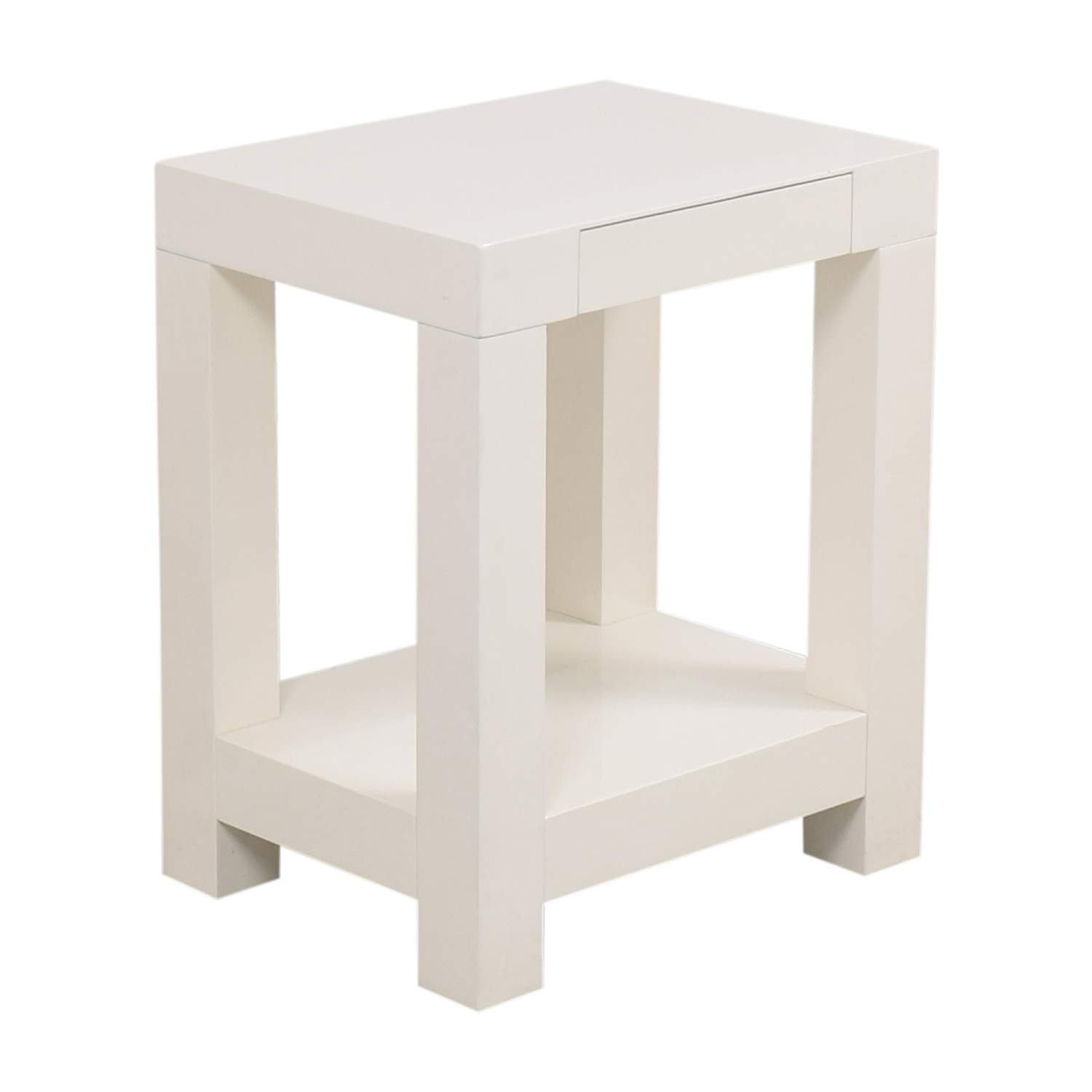 West Elm West Elm Parsons End Table pa