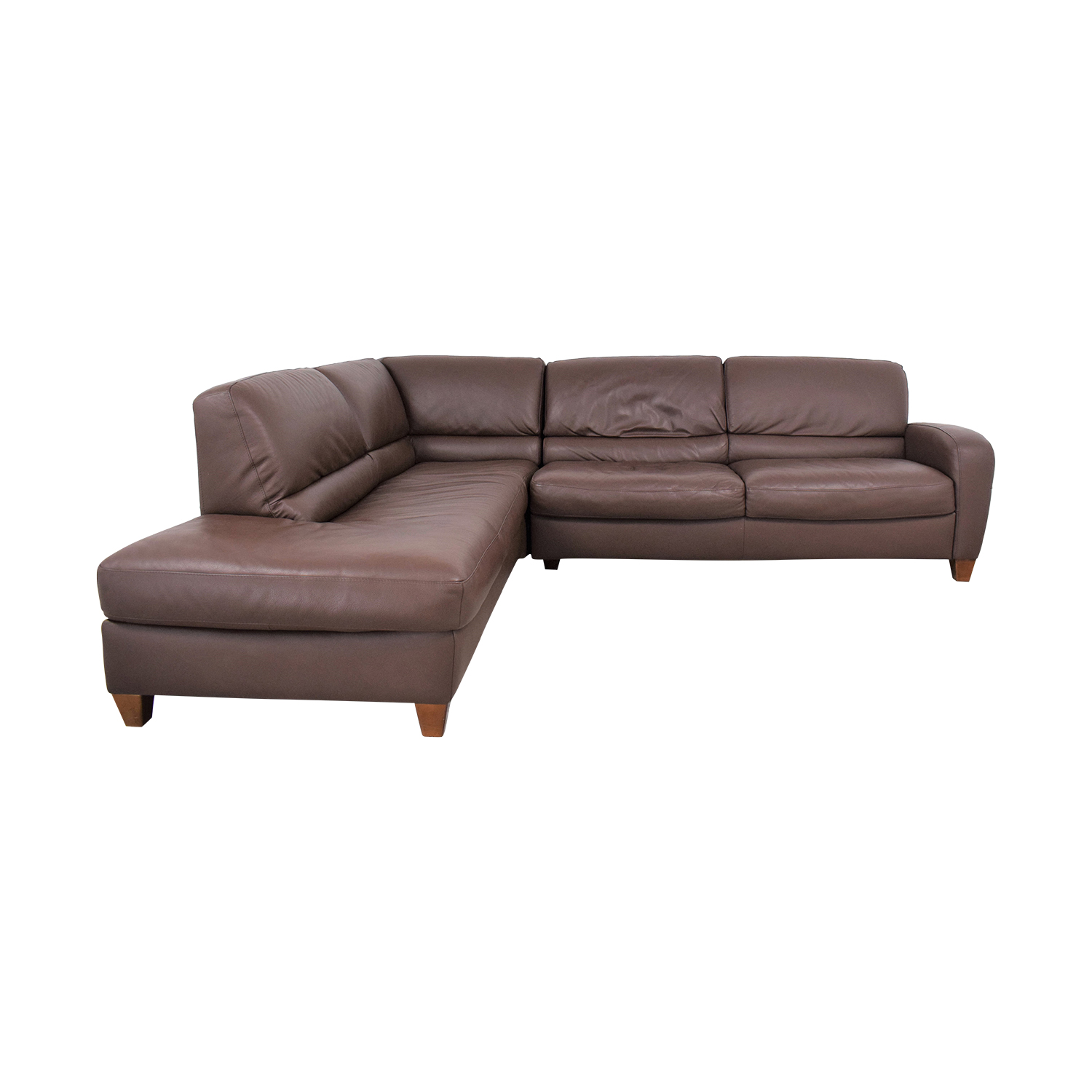 buy Italsofa Sectional Sofa with Chaise Italsofa Sectionals