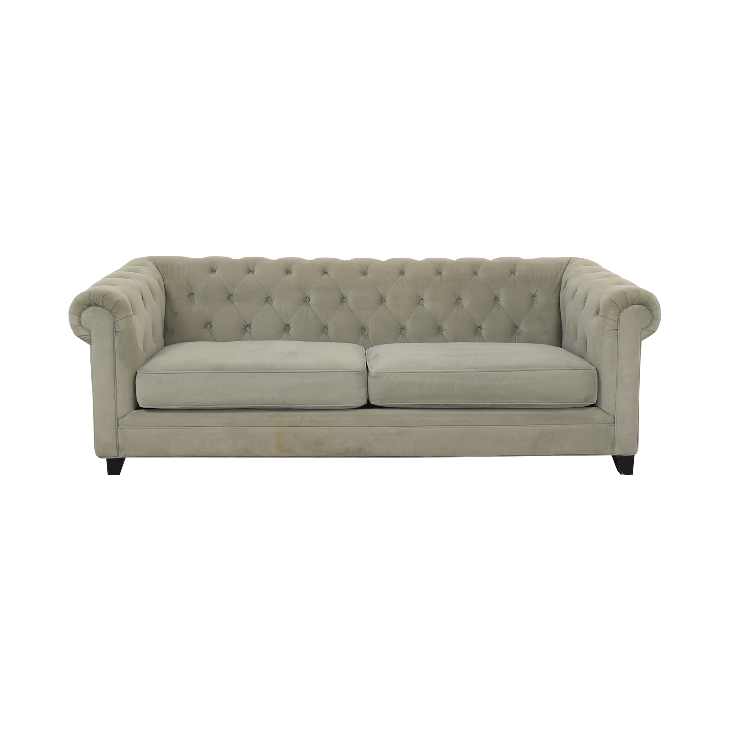 Jonathan Louis Jonathan Louis Martha Stewart Collection Saybridge Fabric Sofa light grey