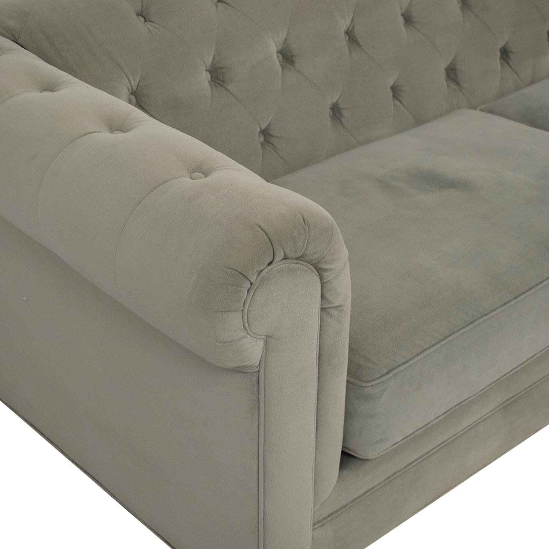Jonathan Louis Jonathan Louis Martha Stewart Collection Saybridge Fabric Sofa used