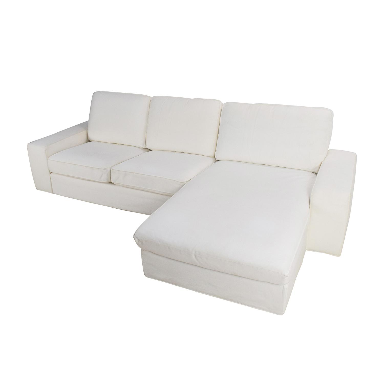 69 Off Ikea Ikea Kivik Sofa And Chaise Sofas