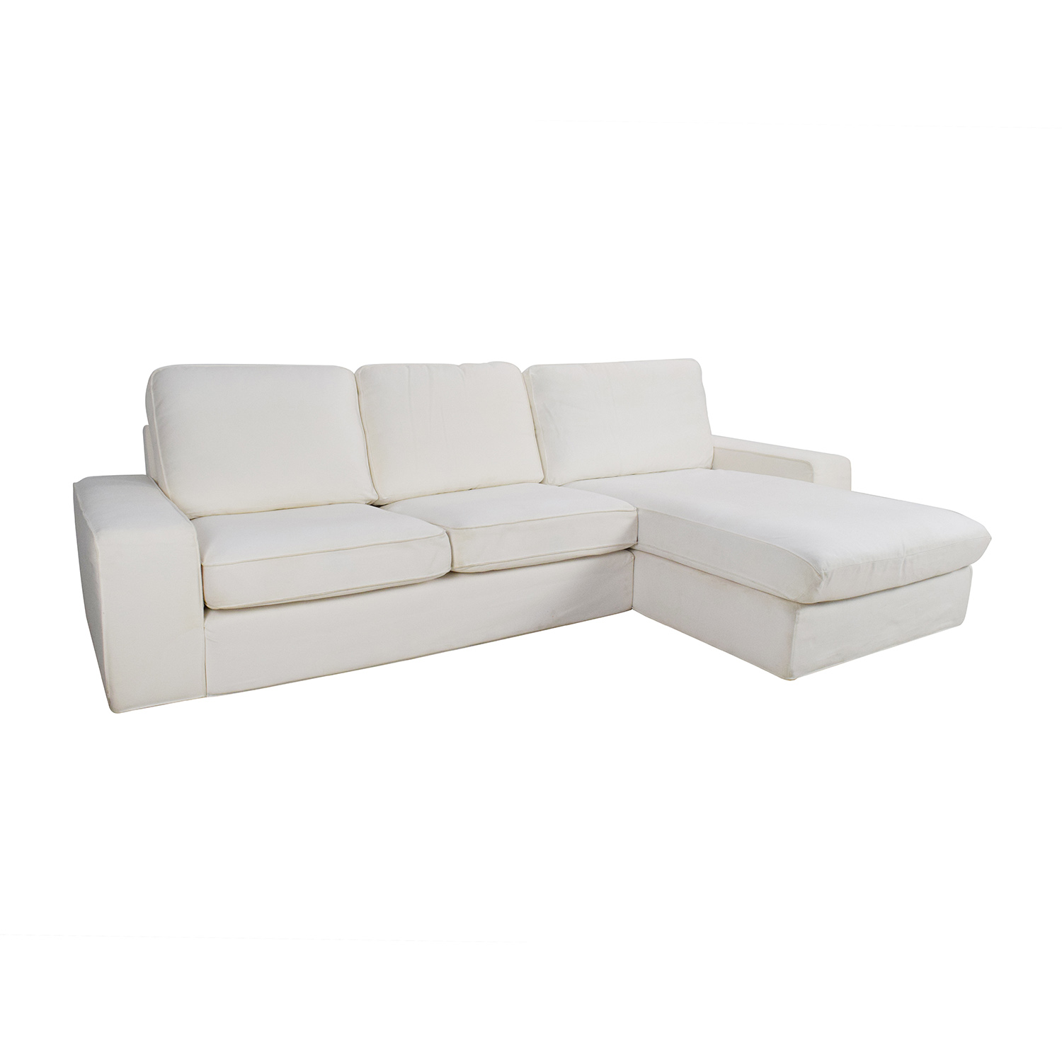 69 off ikea ikea kivik sofa and chaise sofas