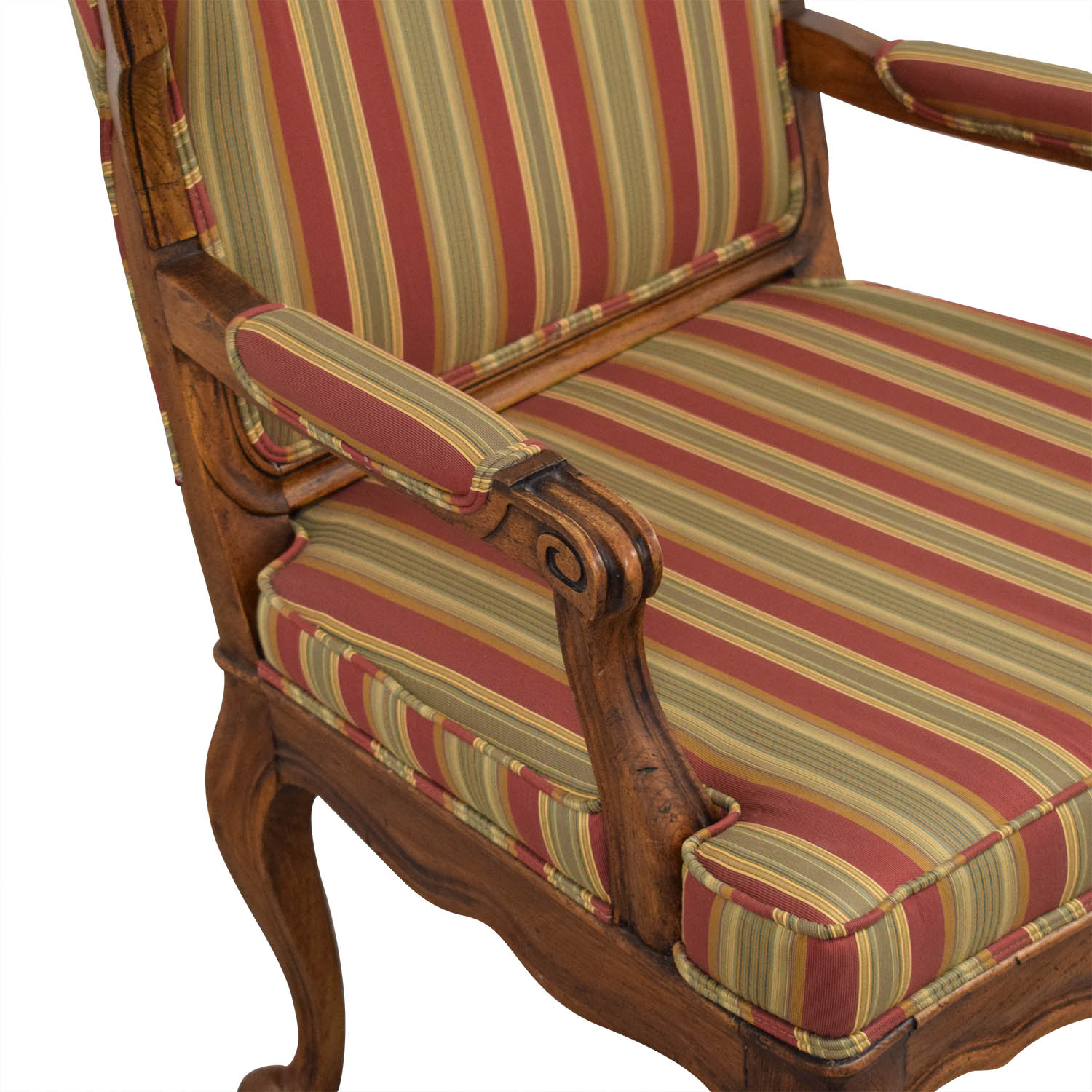 buy Upholstered French Style Armchair  Chairs