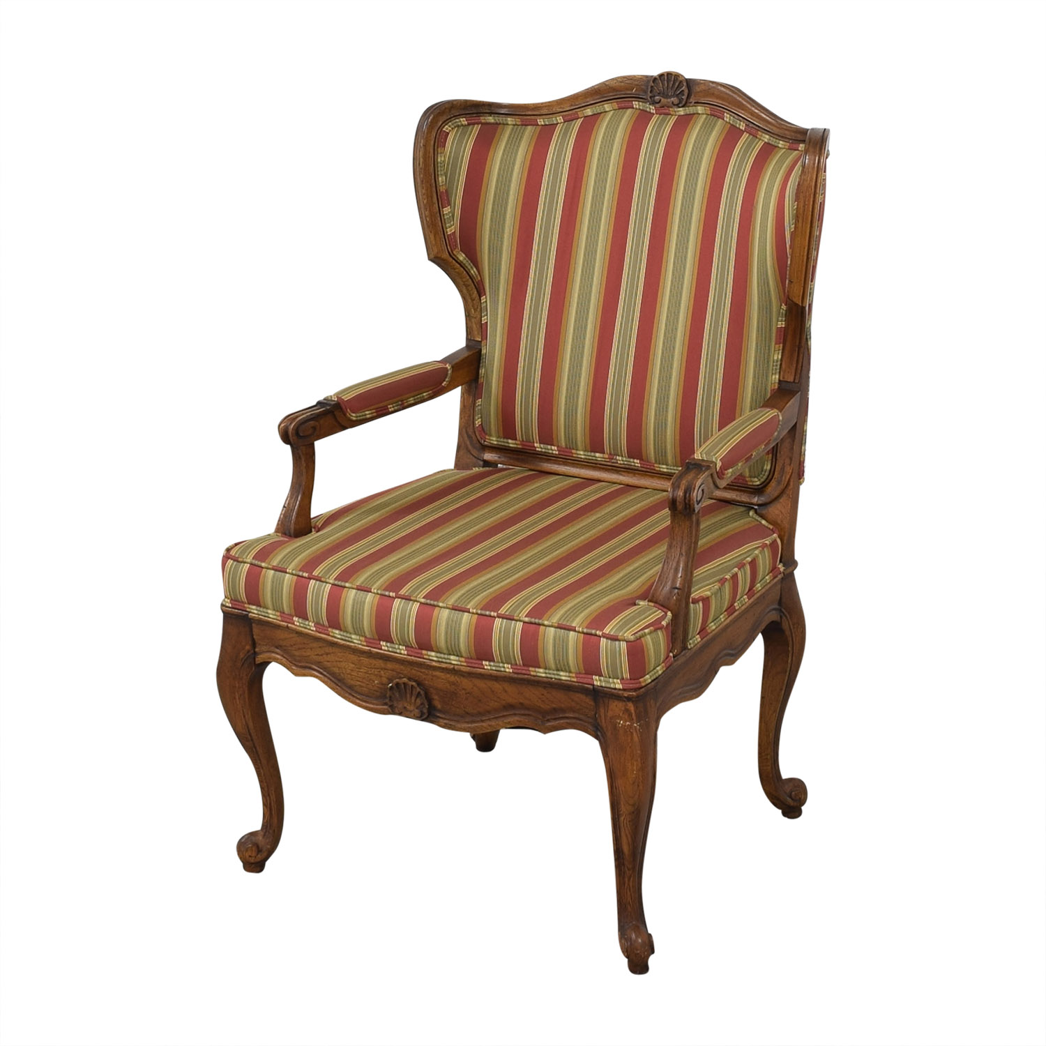 buy Upholstered French Style Armchair  Accent Chairs