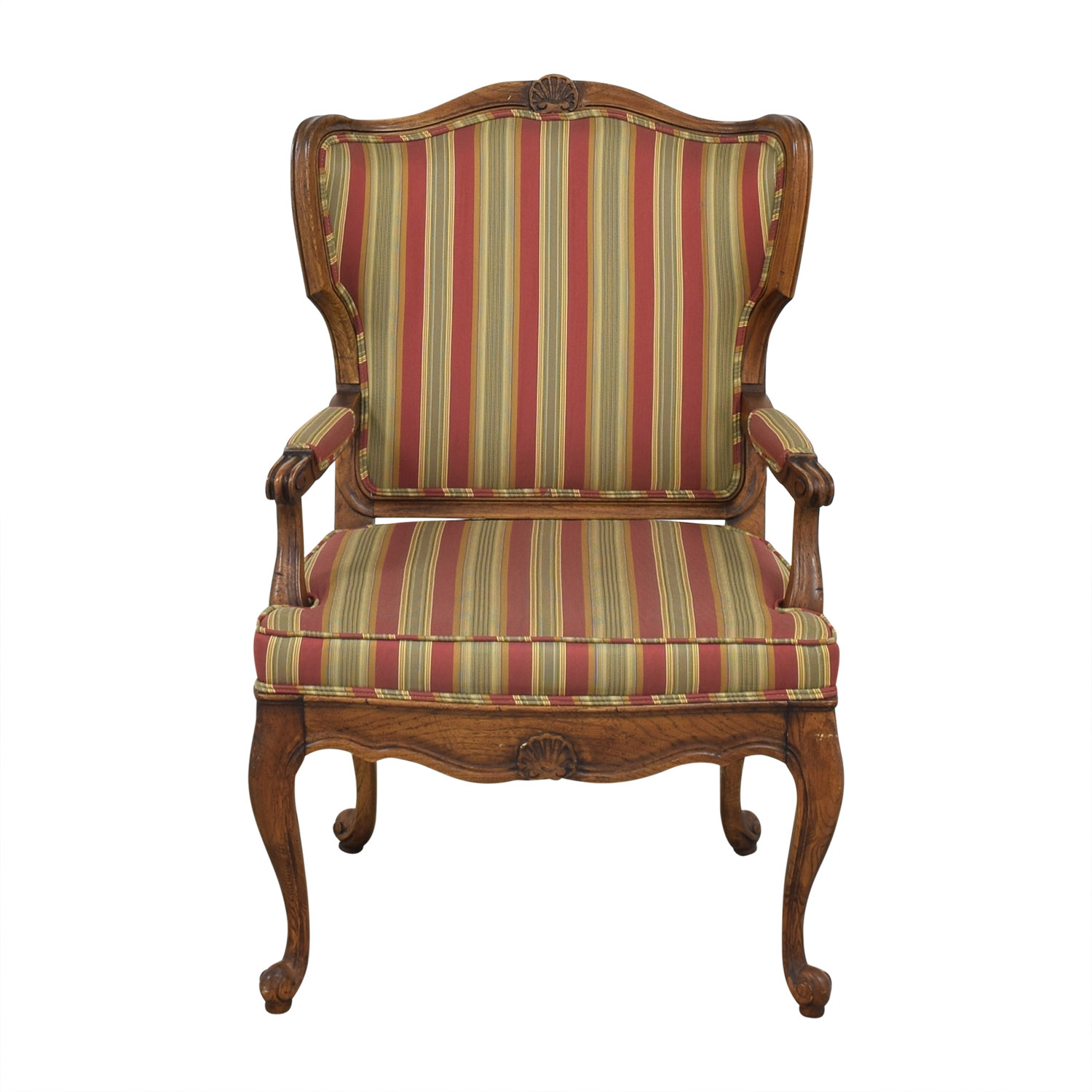Upholstered French Style Armchair nyc