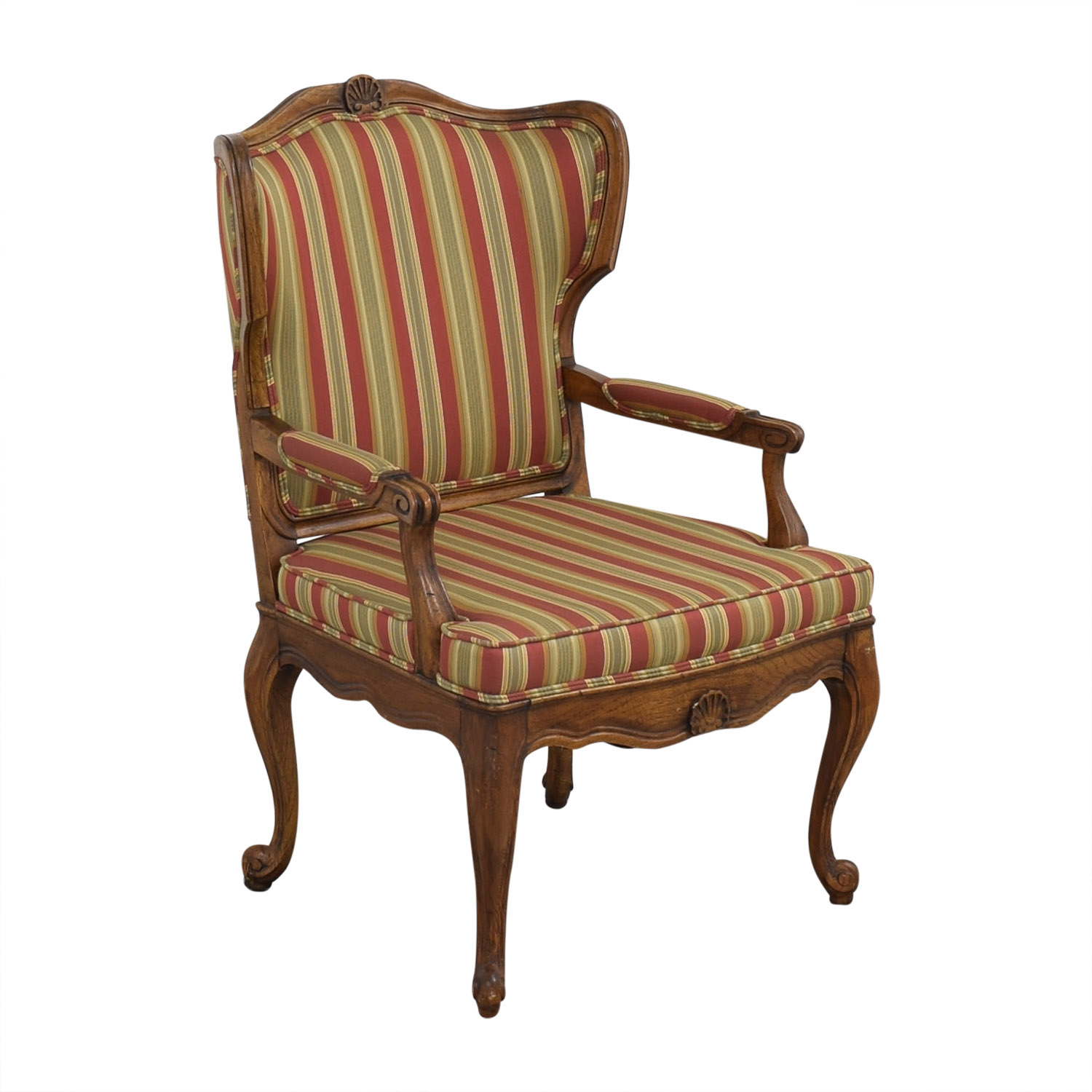 shop Upholstered French Style Armchair  Chairs