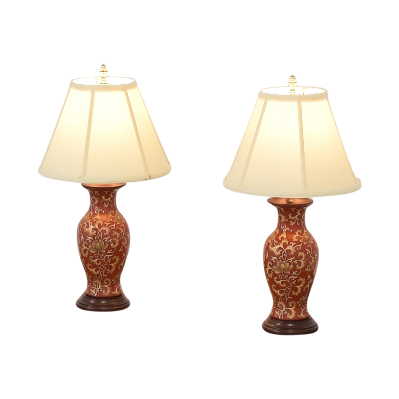 Porcelain Table Lamps second hand