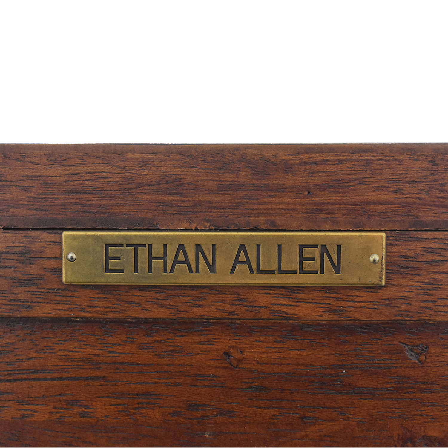 Ethan Allen Ethan Allen Carved Console Table ct