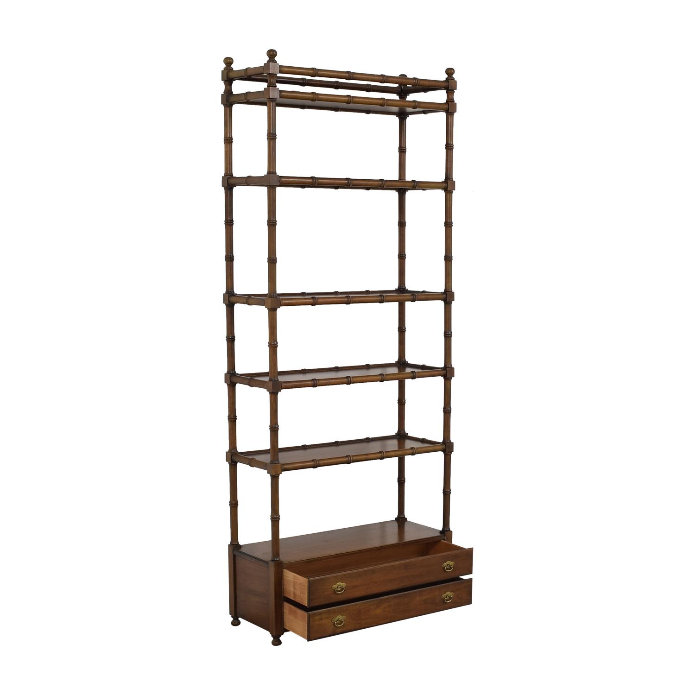 Pennsylvania House Bookshelf with Drawers sale