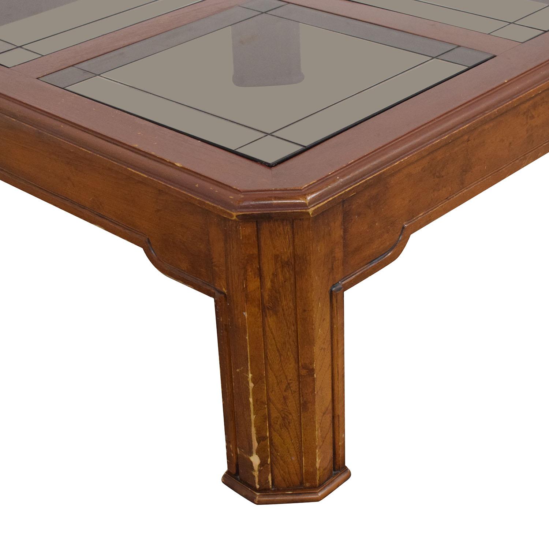 buy Huffman Koos Square Coffee Table Huffman Koos