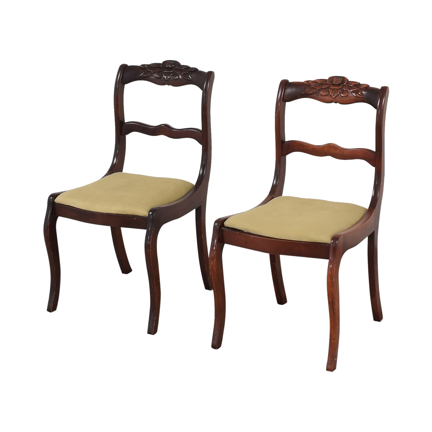 buy Vintage Upholstered Dining Chairs  Dining Chairs