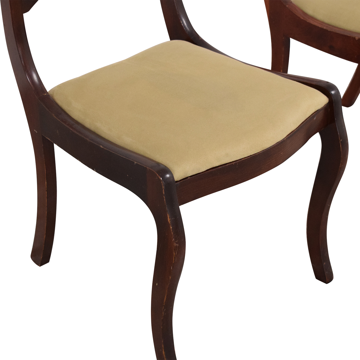 Vintage Upholstered Dining Chairs ct