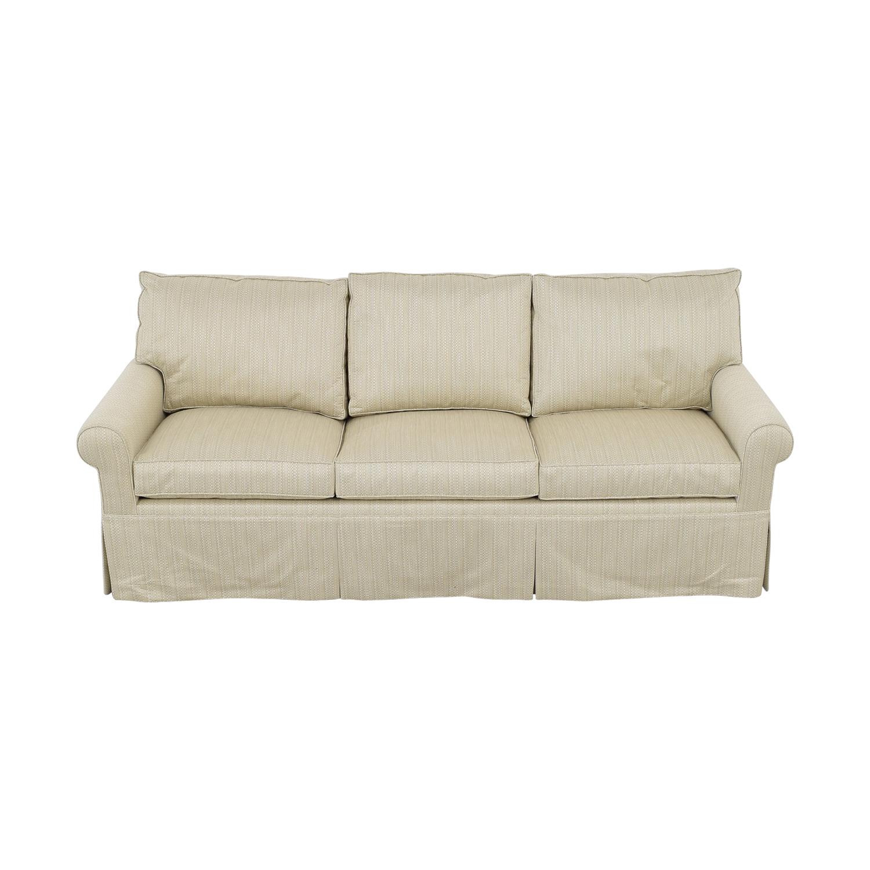 Carlyle Carlyle Queen Plus Sleeper Sofa tan