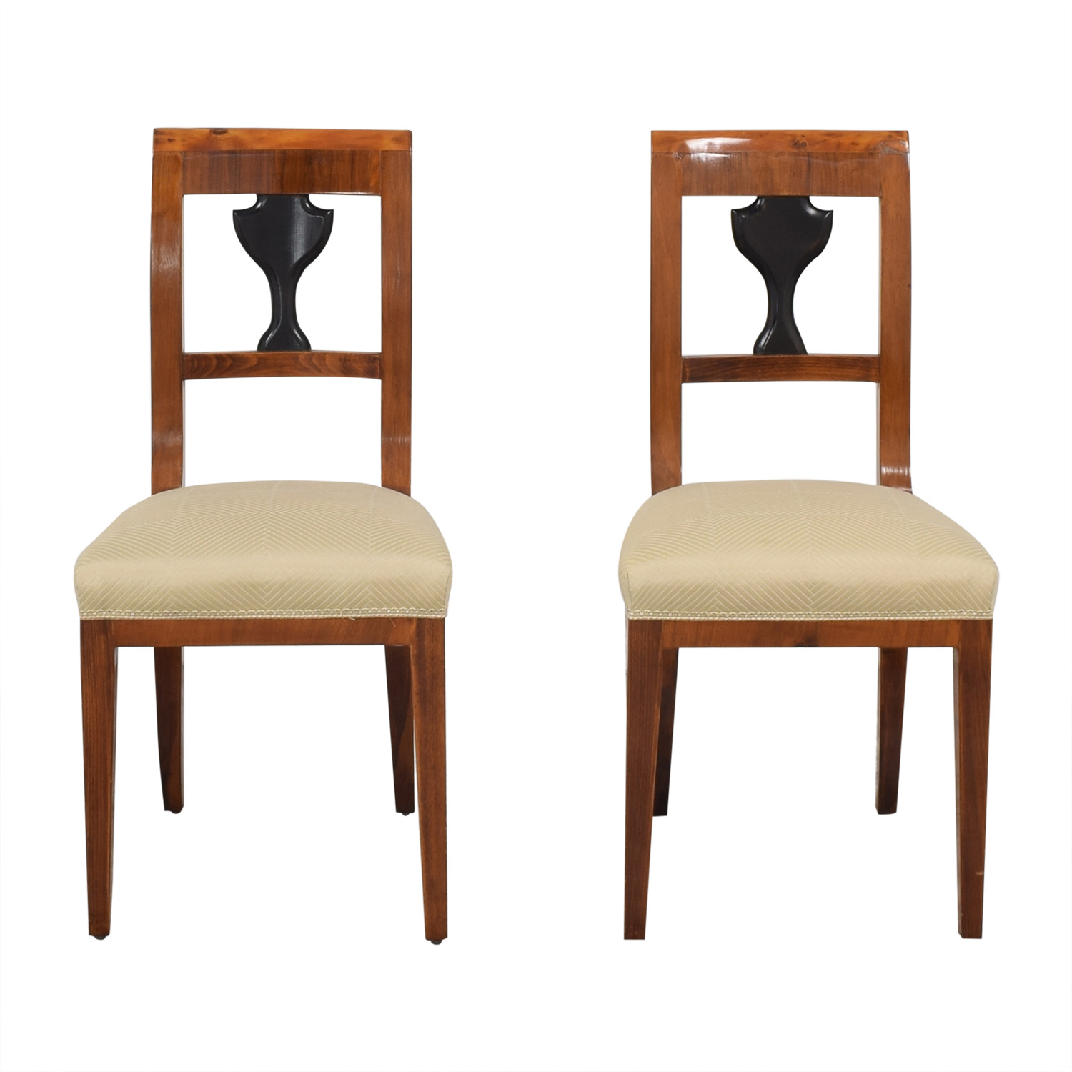 ABC Carpet & Home Upholstered Dining Chairs dimensions
