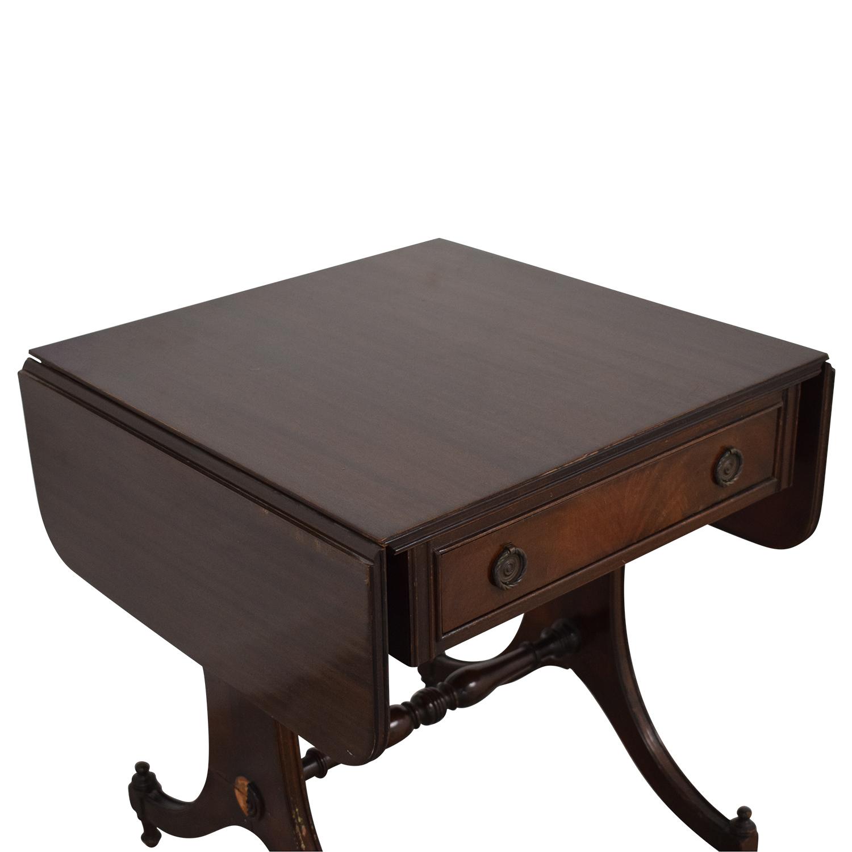 Vintage Drop Leaf Accent Table price