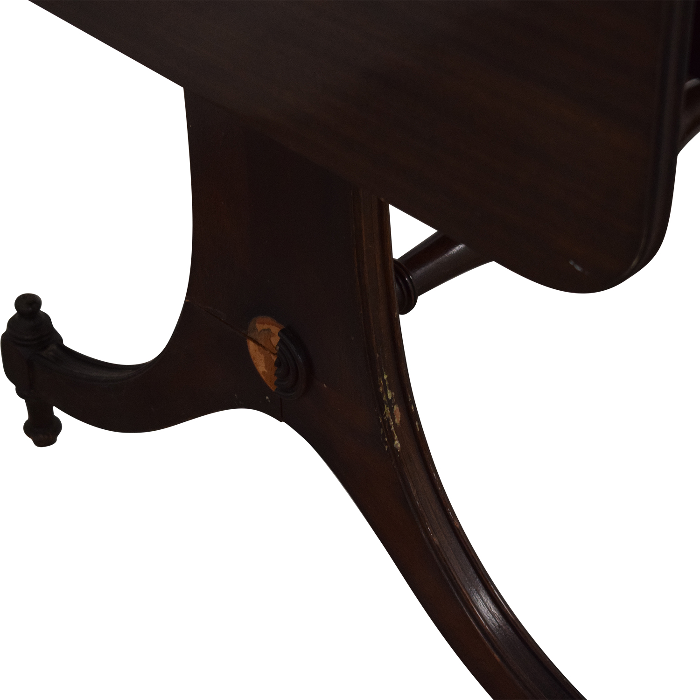 Vintage Drop Leaf Accent Table