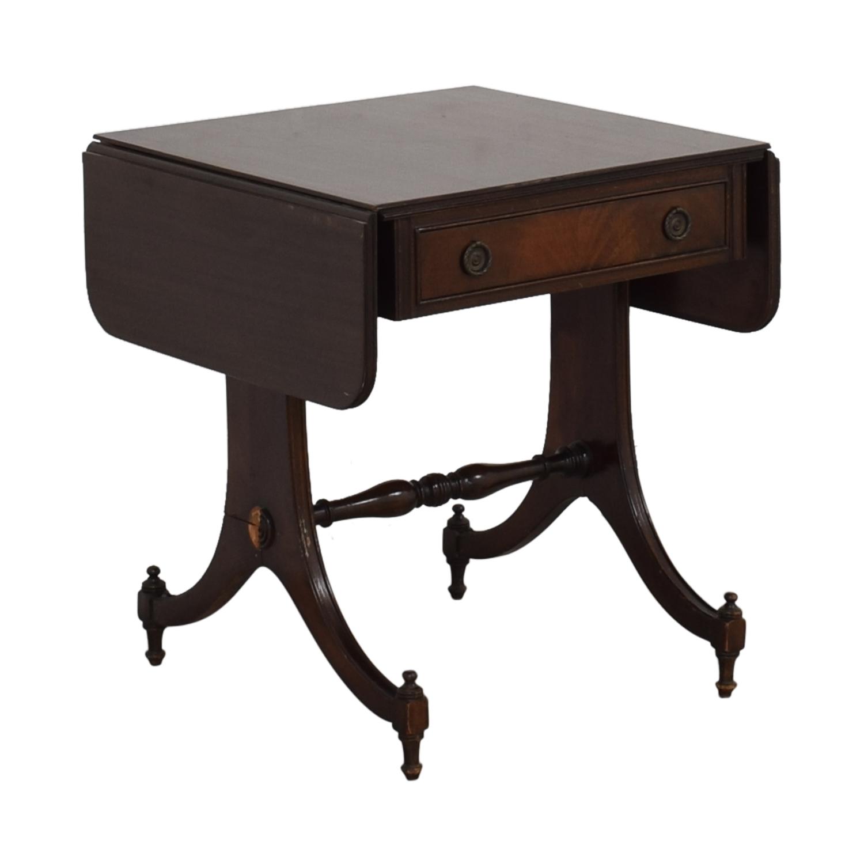 Vintage Drop Leaf Accent Table for sale