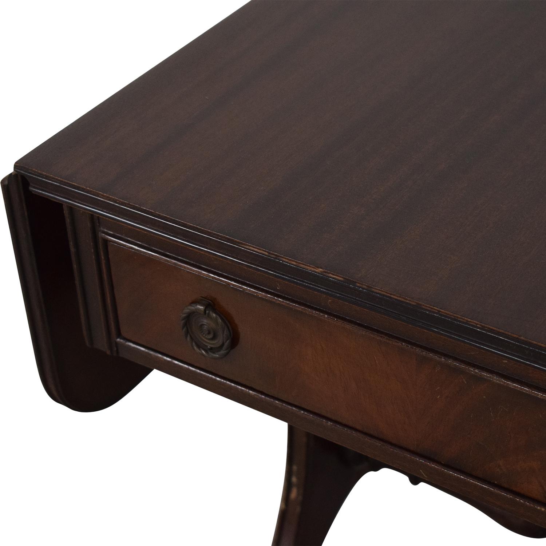 Vintage Drop Leaf Accent Table Tables