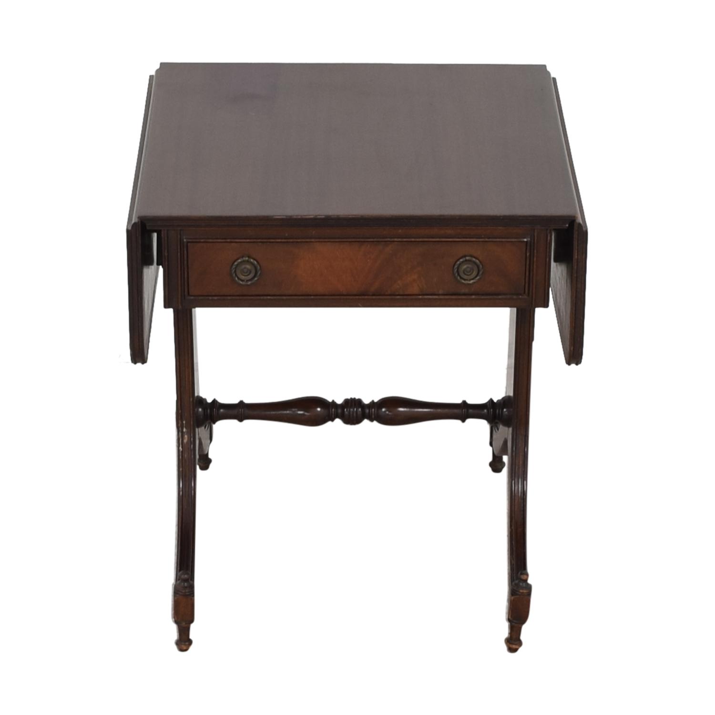 buy Vintage Drop Leaf Accent Table