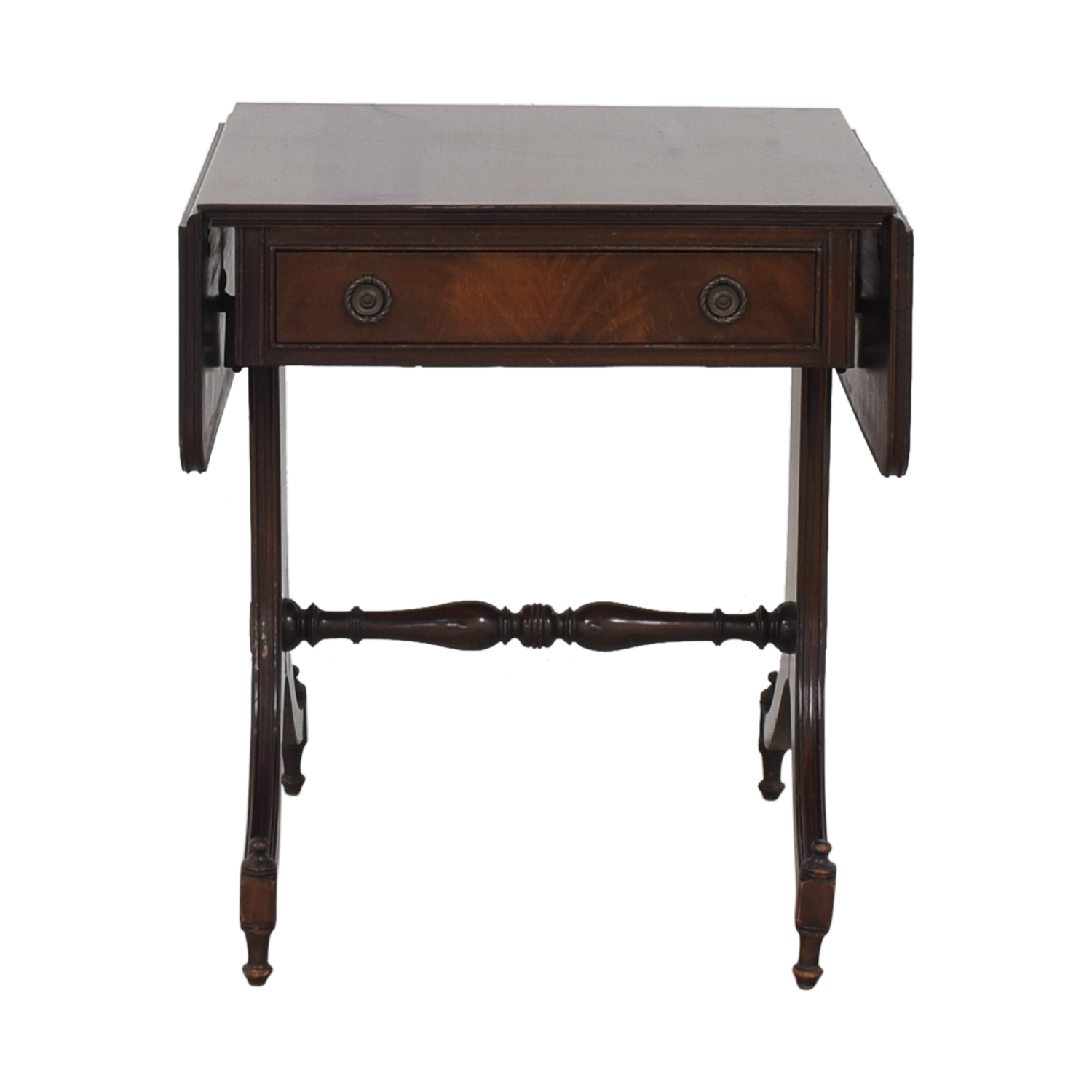 Vintage Drop Leaf Accent Table / Tables