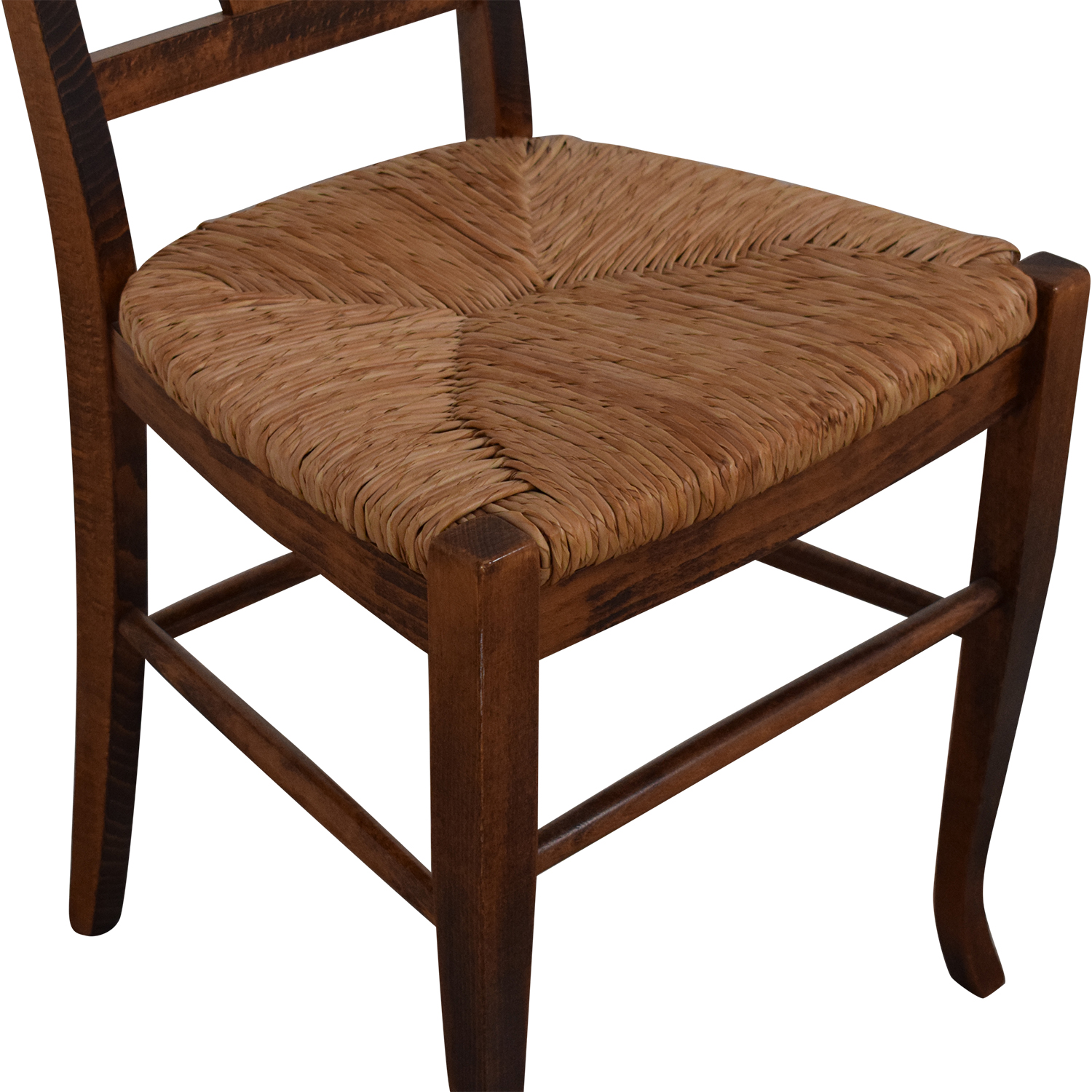 Italian Rush Seat Side Chair sale