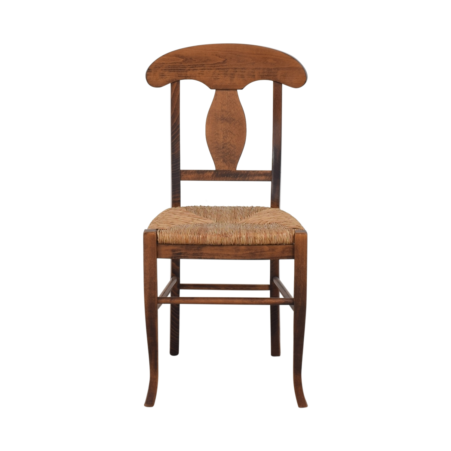 shop Italian Rush Seat Side Chair