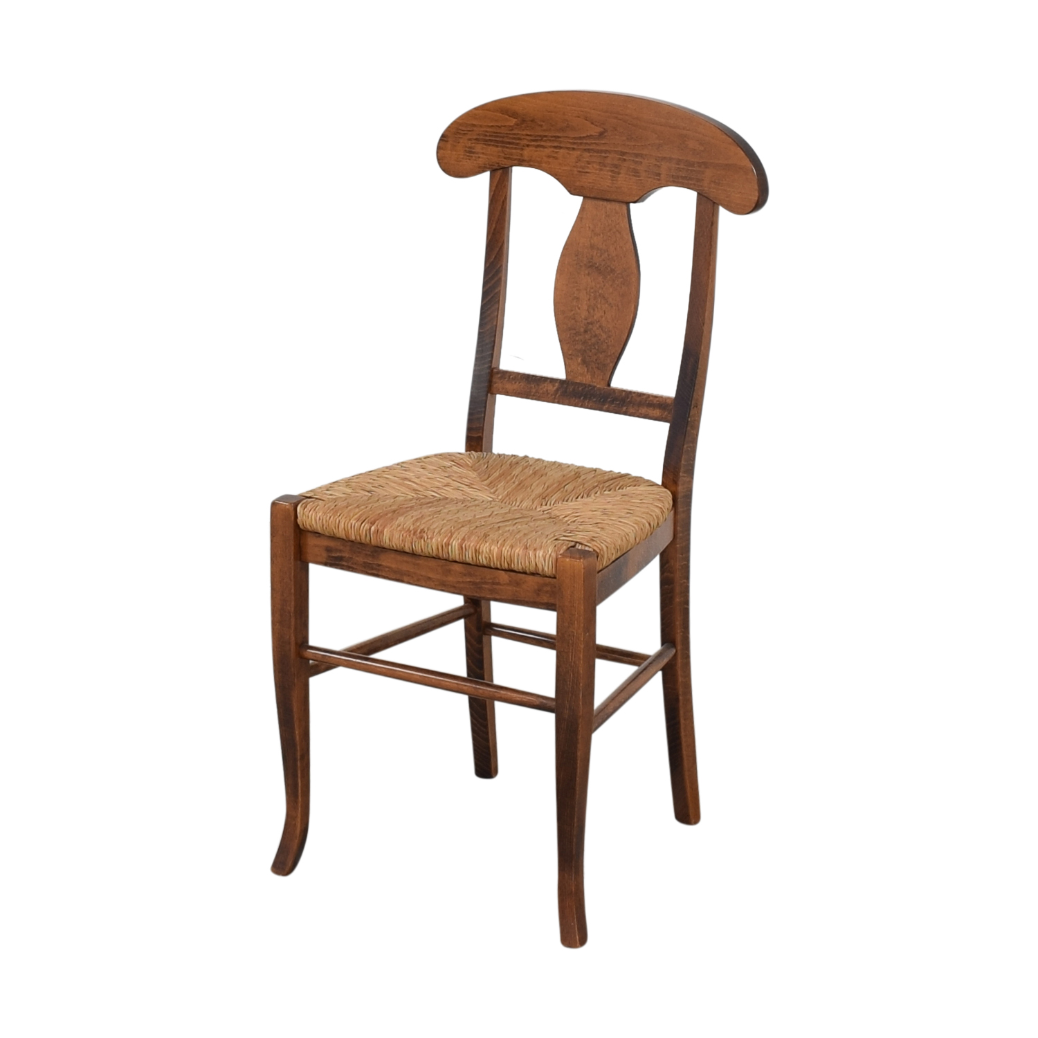 Italian Rush Seat Side Chair Dining Chairs