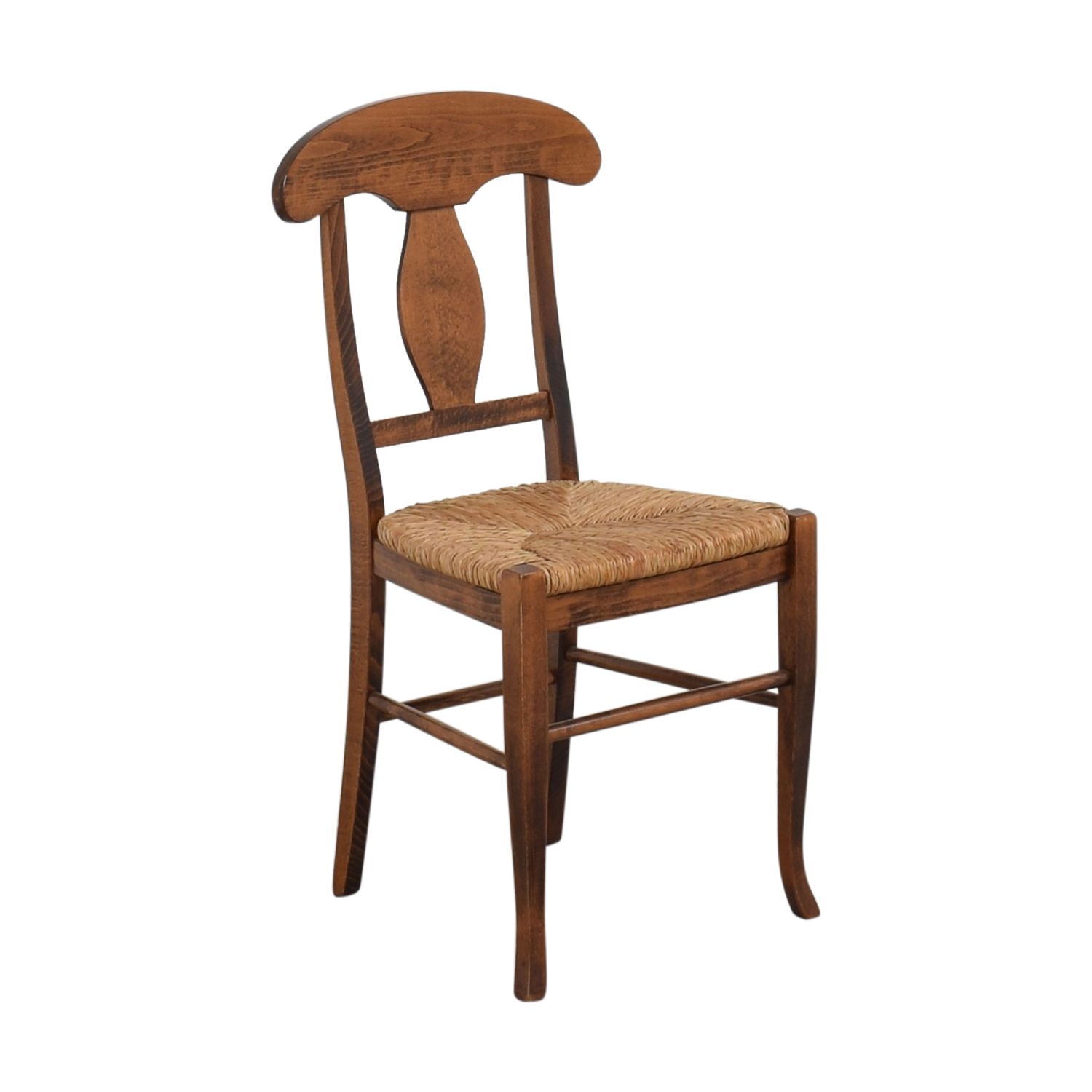 Italian Rush Seat Side Chair ct