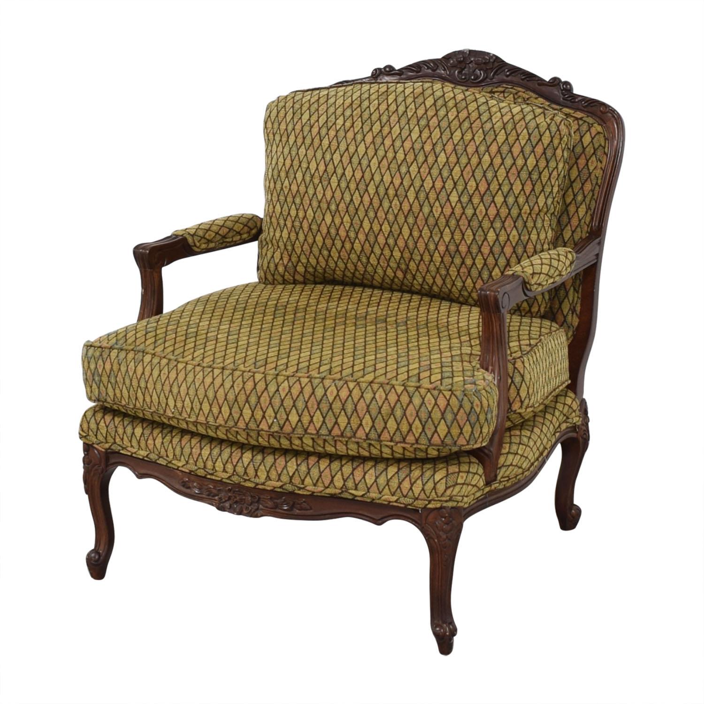 Henredon Furniture Vintage Henredon Chair with Ottoman on sale
