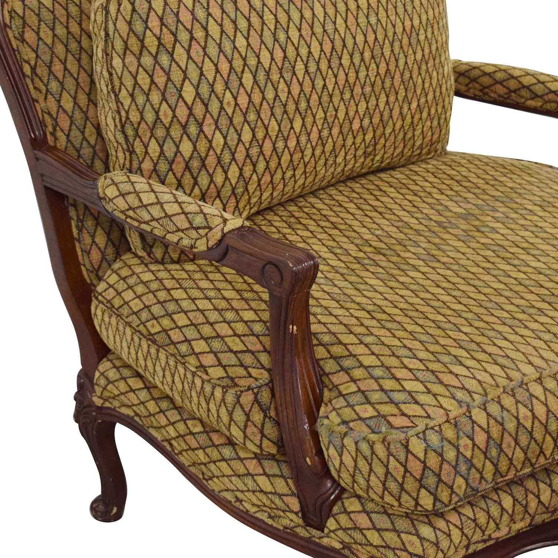 Henredon Furniture Vintage Henredon Chair with Ottoman nyc