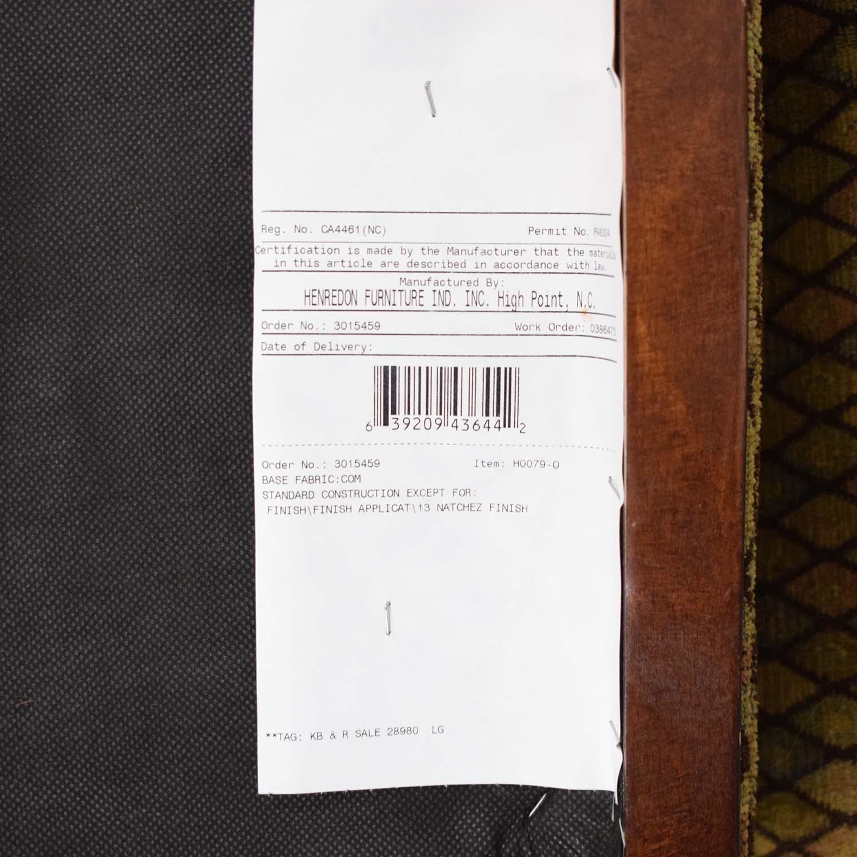 Henredon Furniture Vintage Henredon Chair with Ottoman discount