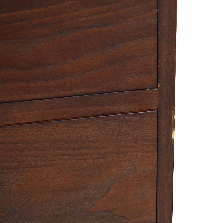 buy Ethan Allen Dresser with Top Cabinet Ethan Allen Storage