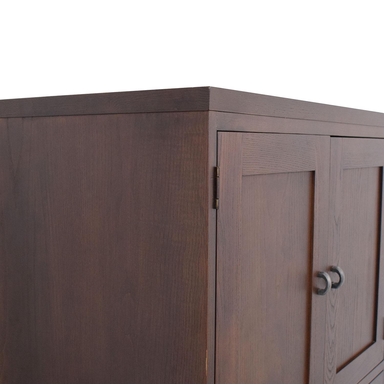 Ethan Allen Dresser with Top Cabinet Ethan Allen