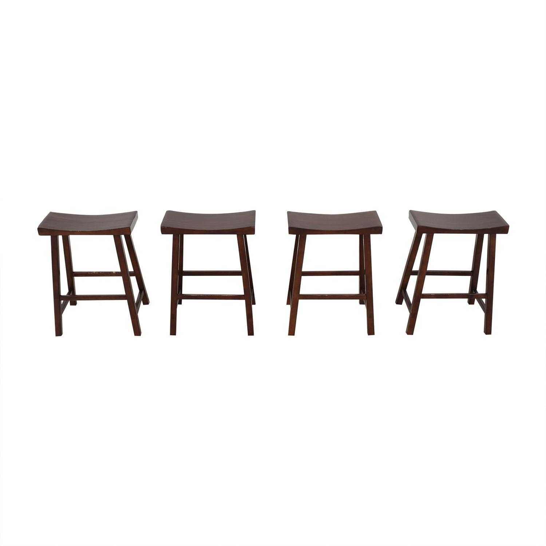 Pottery Barn Tibetan Counter Stools / Chairs