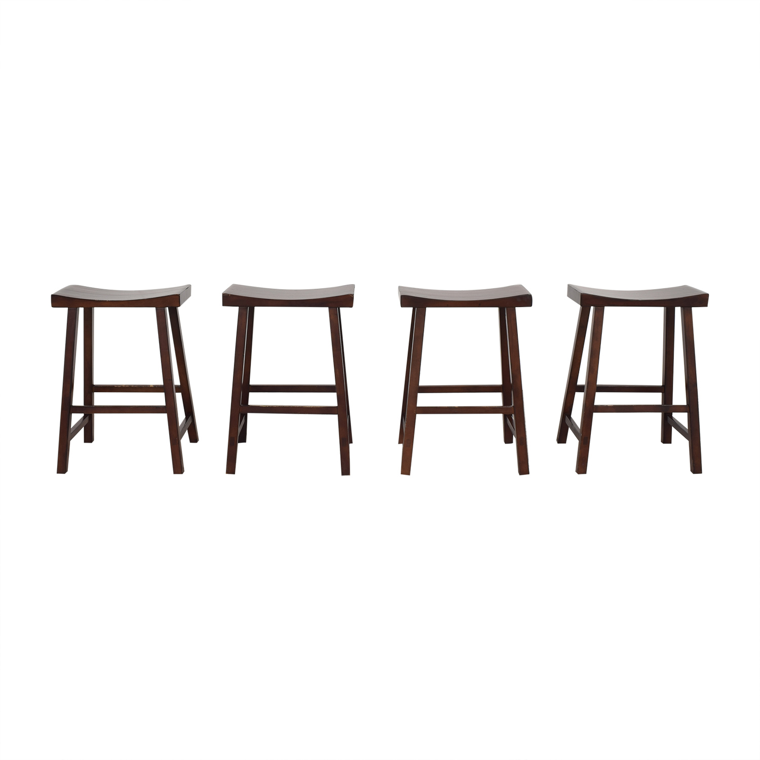 Pottery Barn Pottery Barn Tibetan Counter Stools ct