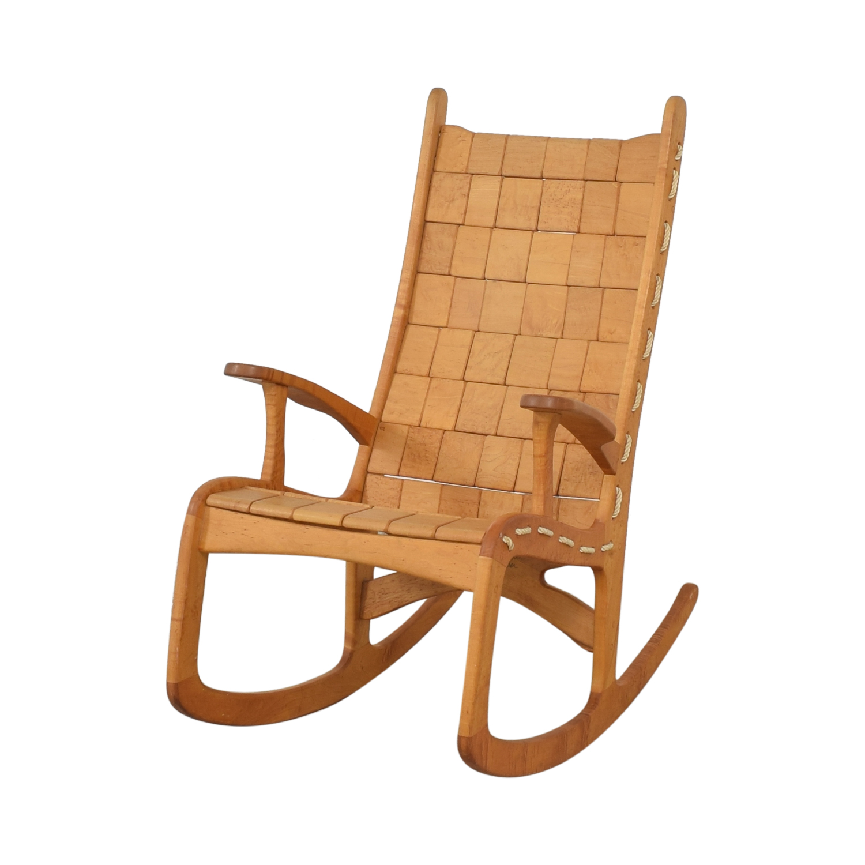 Vermont Woods Studios Vermont Woods Studios Quilted Rocking Chair nj