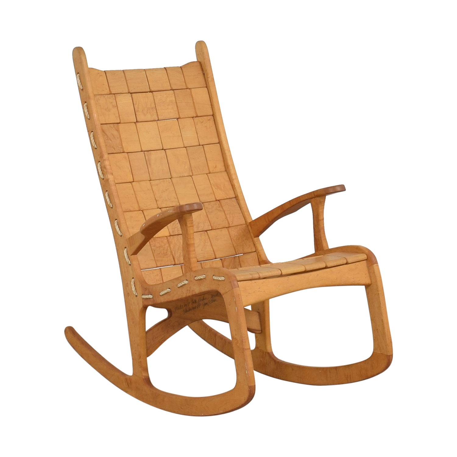 Vermont Woods Studios Vermont Woods Studios Quilted Rocking Chair pa