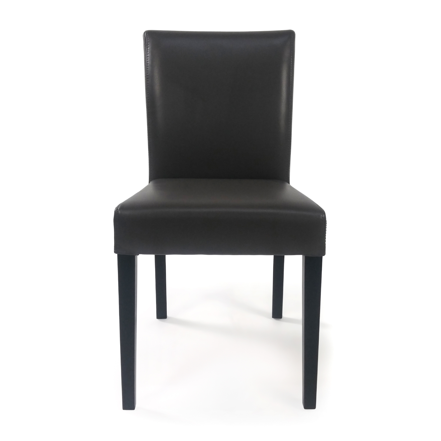 CB2 CB2 Leather Side Chair dimensions