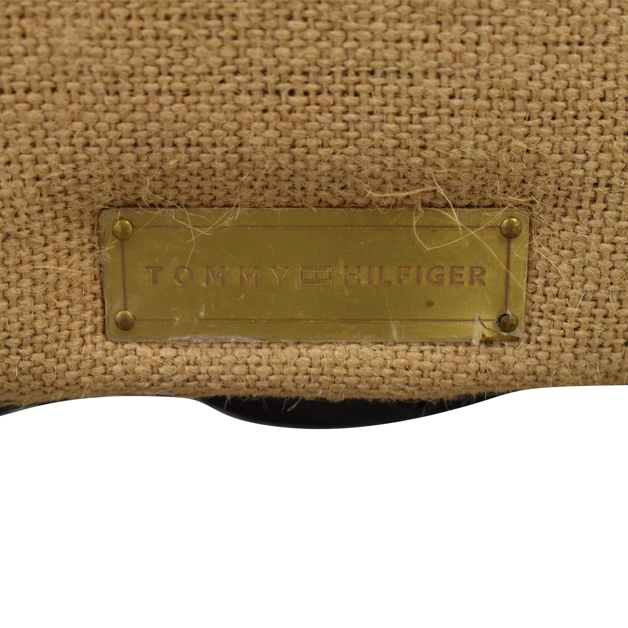 Bed Bath & Beyond Tommy Hilfiger Warner Wingback Chair tan & grey