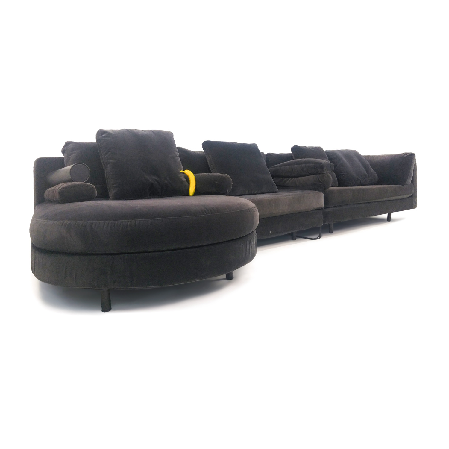 Oversize Designer Sectional Sofa Unknown Brand Sectionals