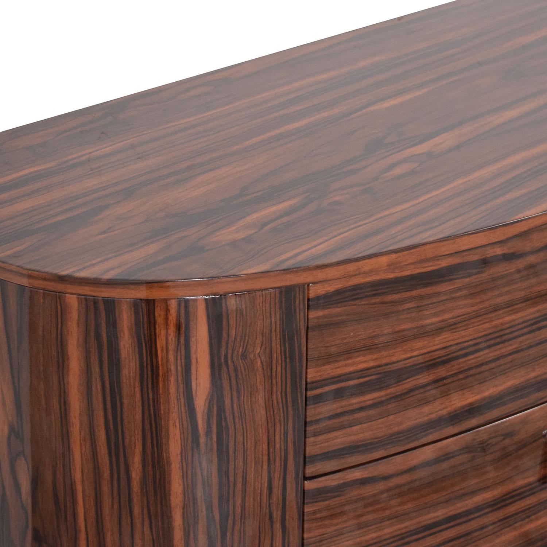 High Gloss Dresser brown