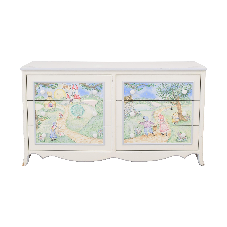 Periwinkles Nursery Rhyme Dresser / Storage