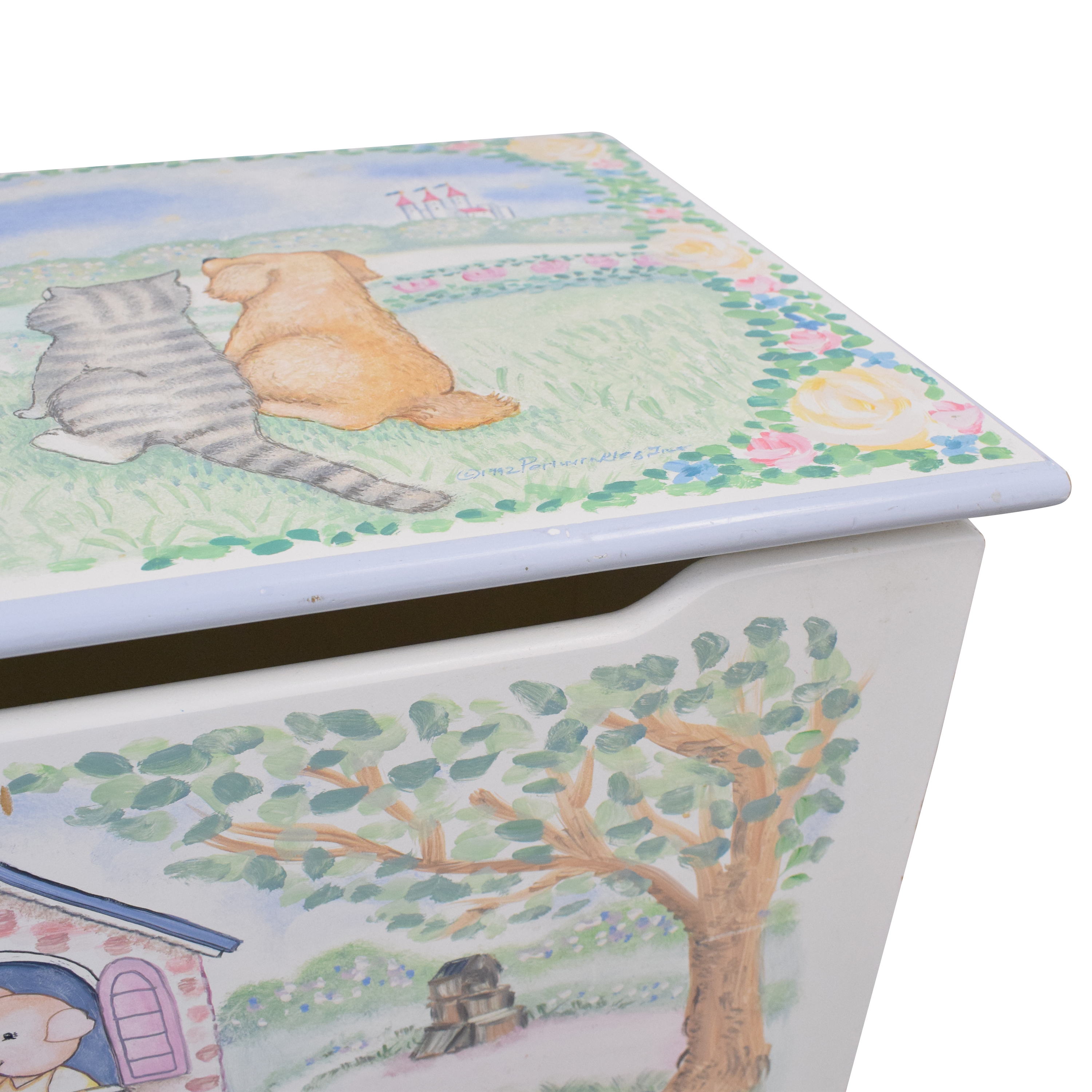 Periwinkles Nursery Rhyme Toy Chest dimensions