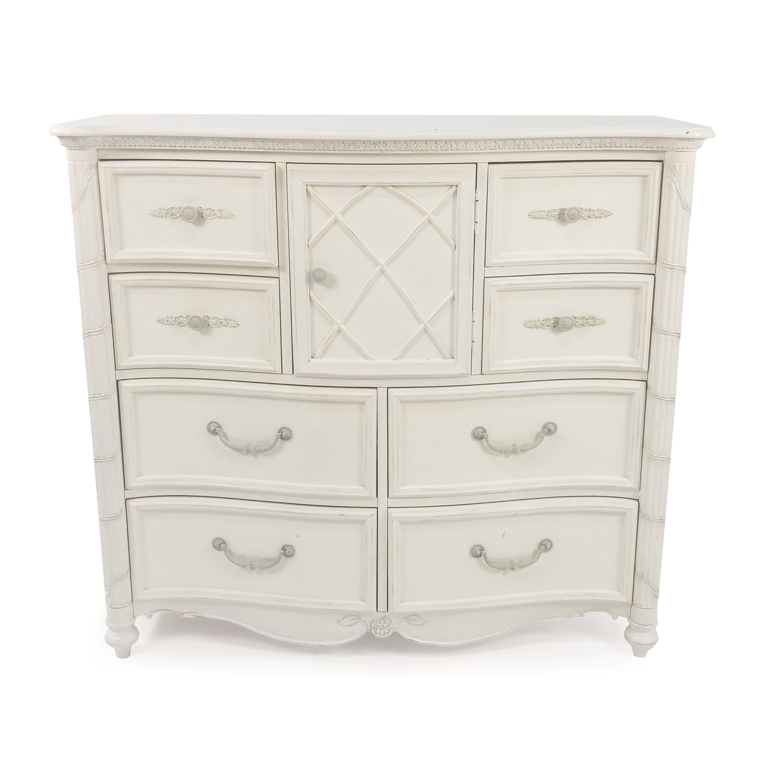 White Dresser second hand